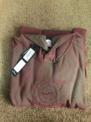 $ CDN668.30 • Buy BNWT Supreme X Stone Island Hoodie Red Size Small