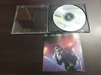 U2 - Live At The Zoo Station CD • 10$