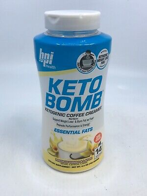 $19.50 • Buy Keto Bomb Coffee Creamer French Vanilla Latte 9/21 6.4oz Brand New Sealed