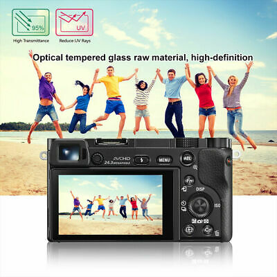 $ CDN5 • Buy Tempered Glass LCD Screen Protector Guard Film For Sony Alpha A6000 A6300 A6500