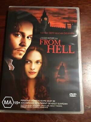 AU7.95 • Buy FROM HELL Johnny Depp Heather Graham VGC 2 DVDs R4