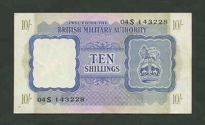 £75 • Buy BRITISH MILITARY AUTHORITY  10 Sh  WWII  Krause M5  Banknotes