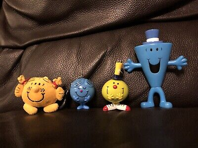 Mr Men /Little Miss Collectible Key Rings, Bag Tags  And Mr Cool 5 Inch • 12.99£