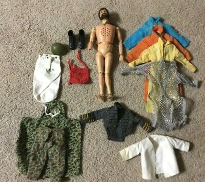 $ CDN143.15 • Buy 1964 Hasbro Bearded Talking G.I. Joe Jointed Soldier Action Figure With Outfits