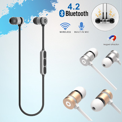 AU12.95 • Buy Wireless Bluetooth Sports Earbuds Stereo Headphones Earphones Headset Sweatproof