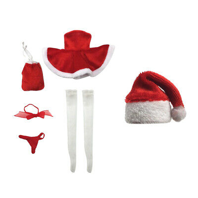 $22.57 • Buy 1/6 Christmas Dress Accessories Santa Hat For 12'' CY TTL Enterbay