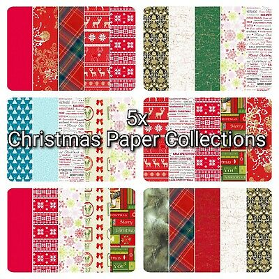 £2.50 • Buy Christmas Decopatch Paper, Decoupage Paper Collection Packs