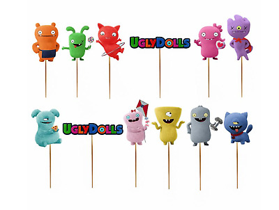 $ CDN14.55 • Buy Ugly Dolls Cupcake Toppers Cake Party Birthday Supplies Balloons