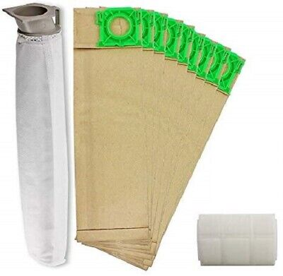 Service Kit For SEBO 370 470 X4 Extra Vacuum 10 Bags Filters Hoover Bag Filter  • 9.99£
