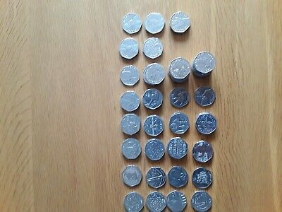 Rare & Collectable 50pence Coins Beatrix Potter, Olympics, WWF, V.C & Many More • 1.75£