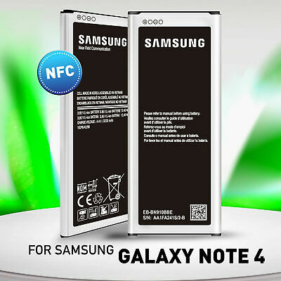 AU15.95 • Buy Replacement Part 3220mAh Battery For Samsung Galaxy Note 4 With NFC