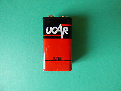 AU32.18 • Buy Vintage Ucar Super 9 Volt Battery
