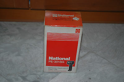 National Flash Gun PE-301SG Extension Arm & Cable SLR Camera Film NEW OLD STOCK • 35.76£