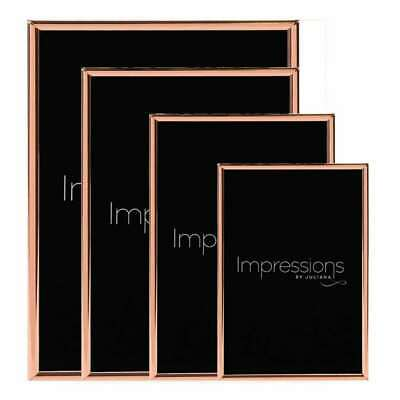 £8.50 • Buy Impressions By Juliana Copper Plated Thin Edged Photo Frame Collection