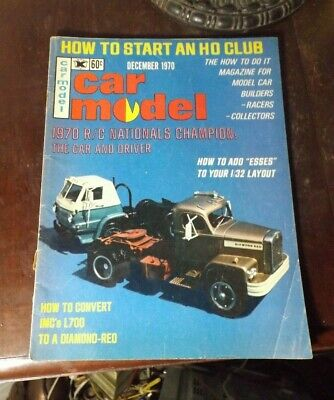 Car Model Magazine How To Add Esses To Your Layout ,IMC's L700 December 1970 • 7$