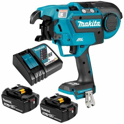 AU4032.95 • Buy Makita BRUSHLESS REBAR TYING TOOL KIT DTR180RFE 18V +2x3.0Ah Batteries & Charger
