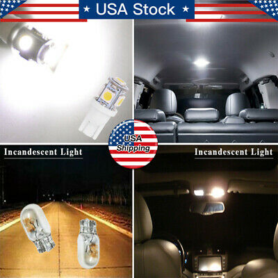 $5.39 • Buy 13x Auto Car Interior LED Lights Dome License Plate Lamp 12V Kit Accessories NEW