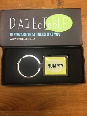 Yorkshire Dialect Keyring. Numpty • 2.99£