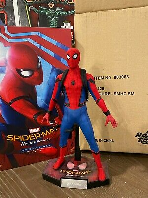 Hot Toys Mms425 Spider-Man Homecoming Standard Edition Tech Suit Iron Man Far  • 485$