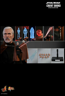 $ CDN436.39 • Buy Hot Toys MMS496 - Star Wars 2 : Attack Of The Clones - Count Dooku