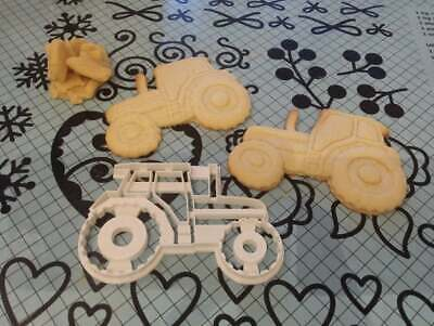 Tractor Cookie Pastry Biscuit Cutter Icing Fondant Baking Bake Kitchen Farming  • 4.99£