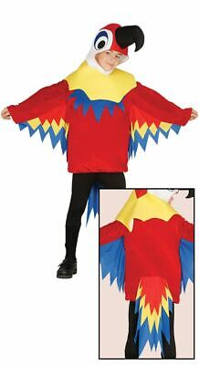 Boys Girls Little Parrot Bird Animal Fancy Dress Costume Childs Book Day Outfit • 14.99£