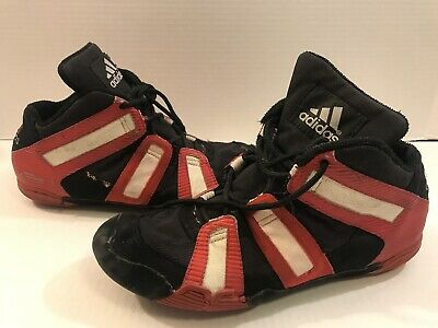 $ CDN483.68 • Buy Wrestling Shoes 9.5 Adidas Graps Grapplers Red/Black