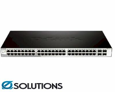D-LINK DGS-1210-52 Smart Switch With 48 UTP And 4 SFP Po • 661.12AU