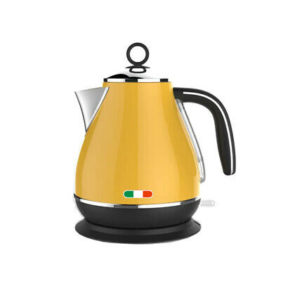 AU59.99 • Buy Vintage Electric Kettle Yellow 1.7L Stainless Steel Auto OFF 2200W Not Delonghi
