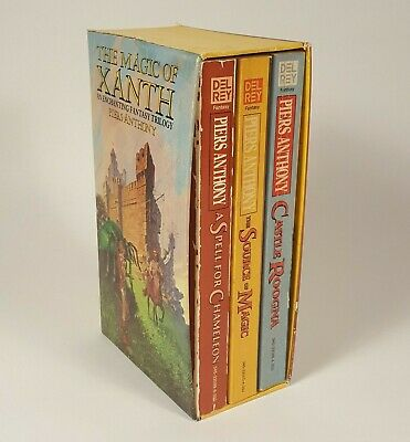 The Magic Of Xanth An Enchanting Fantasy Trilogy By Piers Anthony - 3 Book Set • 16.14$