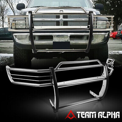 $308.89 • Buy Fits 1999-2001 Dodge Ram 1500[QUAD]Stainless Steel 1.5 Bumper Grille/Brush Guard