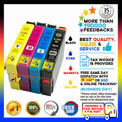 AU32.50 • Buy 5x YYUDA NoN-OEM 288XL 288 XL Ink For Epson XP-240 XP-340 XP-344 XP-440