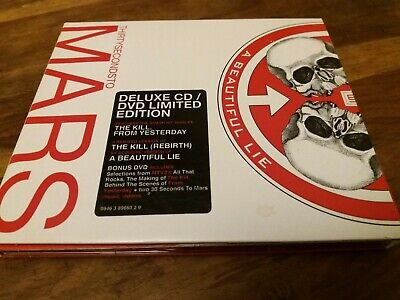 £12.86 • Buy 30 Seconds To Mars A Beautiful Lie Rare Deluxe 2 Disc CD & DVD Thirty Bonus