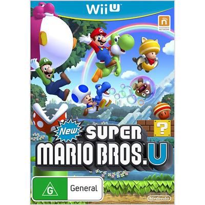 AU35.95 • Buy New Super Mario Bros U Wii U Nintendo Brand New AUS Original Version