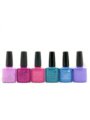 AU15.80 • Buy CND Shellac UV Gel Polish 0.25oz- Garden Muse Collection 2015 Summer