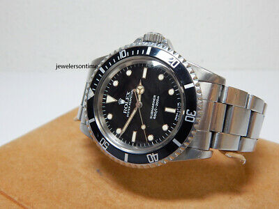 $ CDN14249.06 • Buy 1984 Vintage Rolex Stainless Steel Non Date Submariner 5513