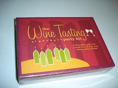 The Wine Tasting Party Kit, Everything You Need To Host A Tasting Party,  New • 9$