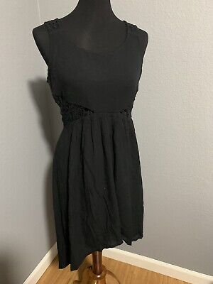 Forever 21 Women's Lace Black High Low Dress Size Small • 6.43£