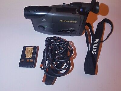 £20.21 • Buy Philips Old Video Camera M622 Explorer  + 2 Batteries