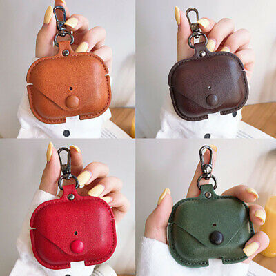 $ CDN10.13 • Buy For Airpods Pro Leather Headphone Earphone Protective Case Cover Storage Bag Box