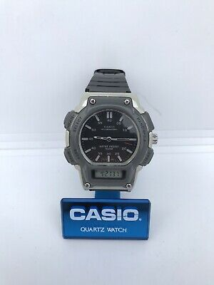 Vintage Casio AQ-150W Module 2315 Quartz Old Retro Alarm Watch Ana-Digi Chrono • 47.19£