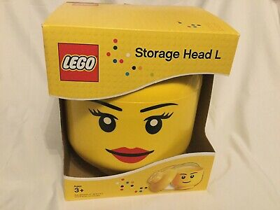 £29.95 • Buy LEGO Large Storage Container Head, Girl