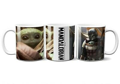 $14.99 • Buy BABY YODA AND THE MANDALORIAN 11oz CERAMIC COFFEE MUG DISNEY STAR WARS