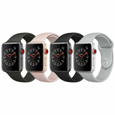 $ CDN256.29 • Buy Apple Watch Series 3 | 38mm / 42mm | 16GB GPS+Cellular | Space Gray/Silver/Gold