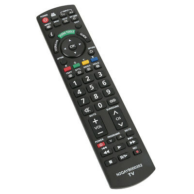 AU16.98 • Buy N2QAYB000352 Remote For Panasonic TV TH-P42X14A TH-P46G10A TH-P46G10A TH-P50G10A
