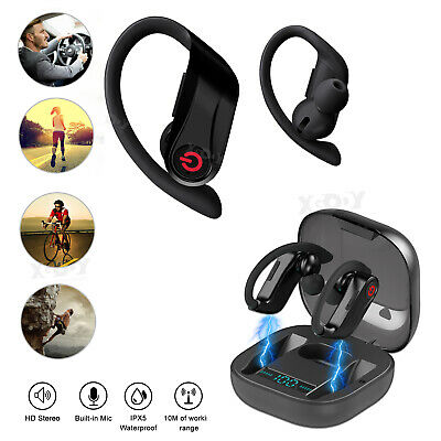 $30.99 • Buy 2019 Bluetooth 5.0 Headset Earbuds Wireless Headphones Ear Hook  Earphone Stereo