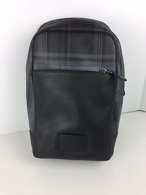 $207.55 • Buy COACH F79937 Signature Westway Sling Pack Men's Coated Canvas Black Multi NWT