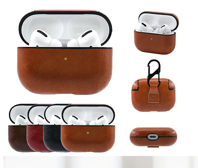 $ CDN7.81 • Buy For Apple AirPods Pro Case Cover Leather Protective Keychain Hang AirPod 3 Case