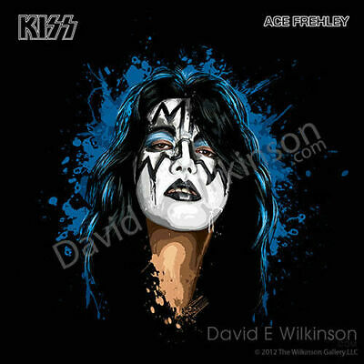 £28.31 • Buy KISS Ace Frehley  The Spaceman  Art Giclee' By David E. Wilkinson