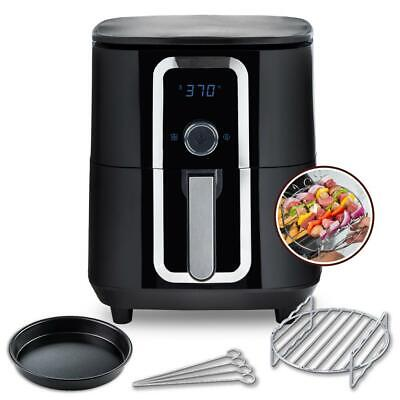 $ CDN159.48 • Buy 7 Qt. Ceramic Family-Size Air Fryer With Accessories And Full Color Recipe Book